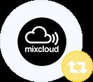 Mixcloud reposts